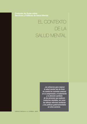 EL CONTEXTO DE LA SALUD MENTAL -OMS
